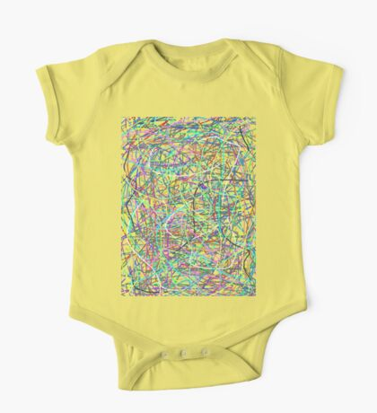 Colorful Noodles One Piece - Short Sleeve