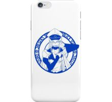 Jaegers Special Police Squad - Blue iPhone Case/Skin