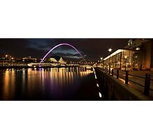 The Millenium Bridge Panoramic Photographic Print