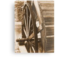 Water Wheel Metal Print