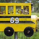 The School Bus - Sunshine Coast Qld Australia by Beth  Wode