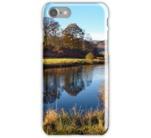 Reflections on the River Brathay iPhone Case/Skin