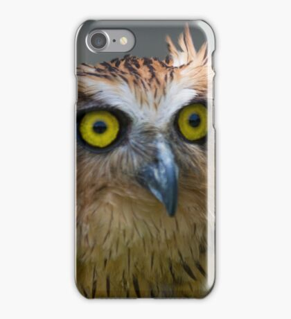 Buffy Fish-owl iPhone Case/Skin