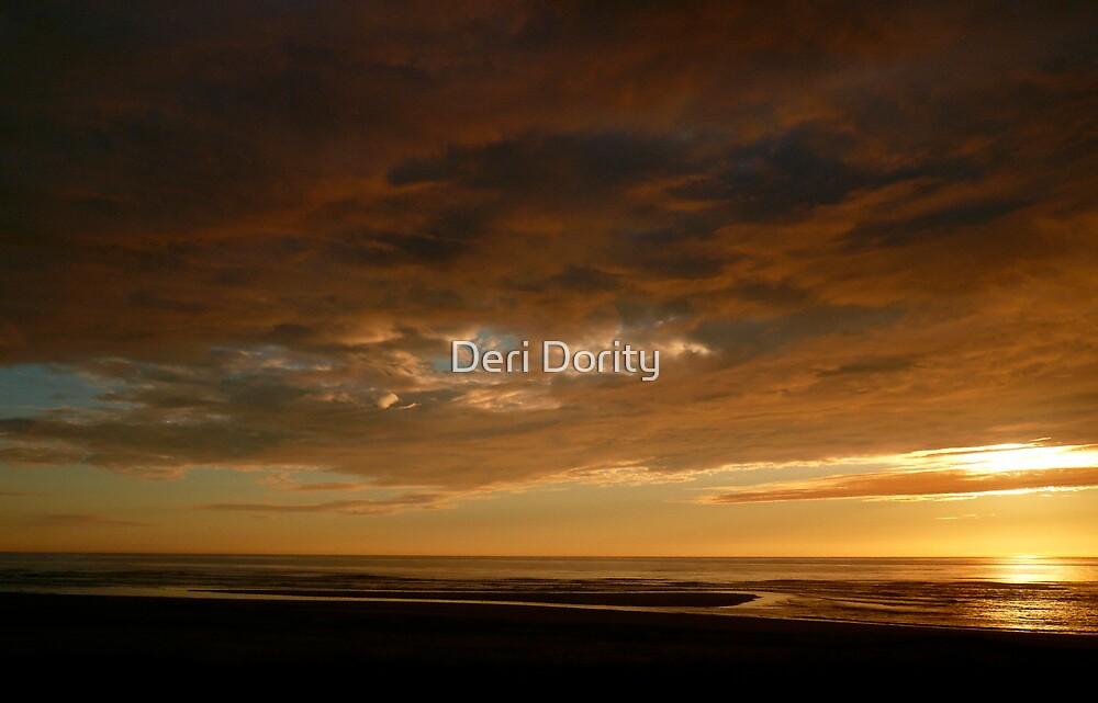 Summer Sunset by Deri Dority