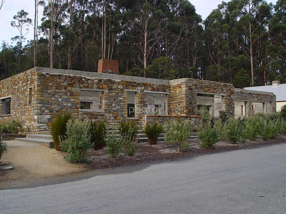 Tasmania Port Arthur Convict Settlement - Cafe, May All Those Rest In Peace! by photoj