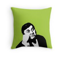 Les Dawson will cheer you up Throw Pillow