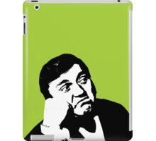 Les Dawson will cheer you up iPad Case/Skin