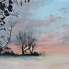 Wintery Sunrise by Mike Paget