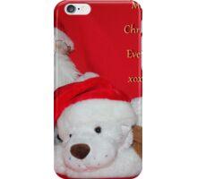 Merry Christmas Everyone iPhone Case/Skin