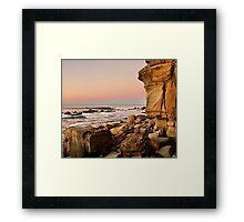 Moffat Rocks Framed Print