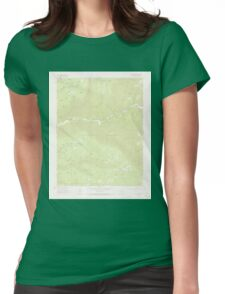 USGS TOPO Map Colorado CO Wallace Ranch 401895 1963 24000 Womens Fitted T-Shirt