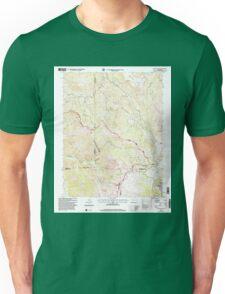 USGS TOPO Map Colorado CO Elwood Pass 232950 2001 24000 Unisex T-Shirt