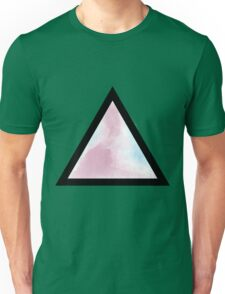 Cotton Candy Triangle Unisex T-Shirt