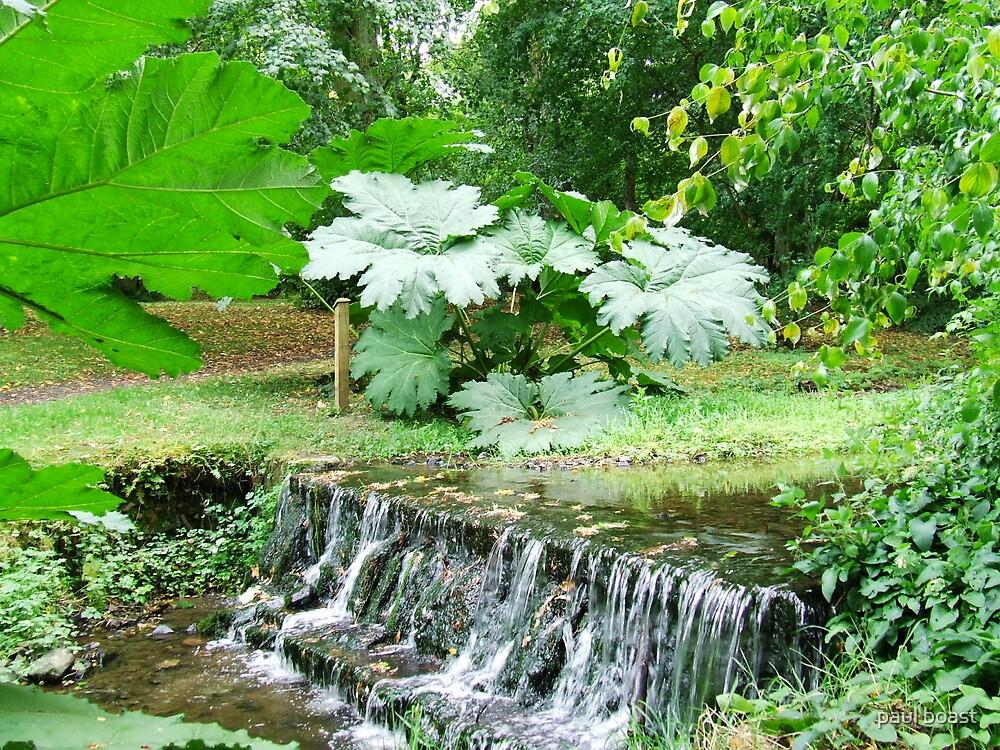 Gardens at Kailzie by paul boast