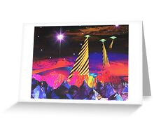 Lands of Vibrance Greeting Card