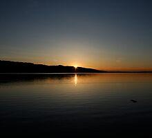 Sunset Lake by Benio