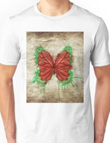 Retro butterfly design Unisex T-Shirt
