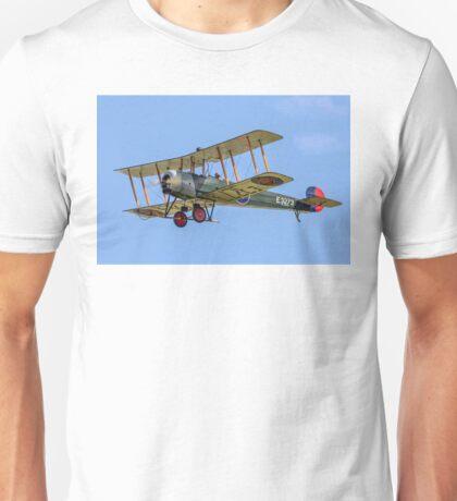 Avro 504K E3273 G-ADEV Unisex T-Shirt