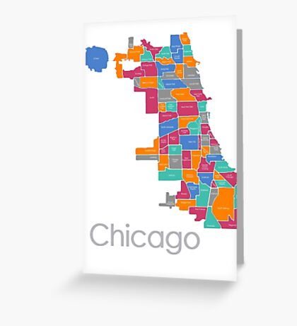 Midtone Chicago Greeting Card