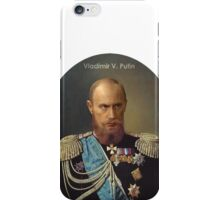 Vladimir Putin - Emperor of Russia iPhone Case/Skin