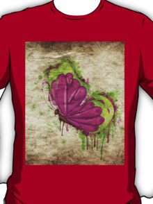 Retro butterfly design 3 T-Shirt