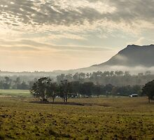 Mt. Maroon Morning by Cameron Semple