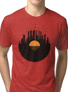 Vinyl City Tri-blend T-Shirt