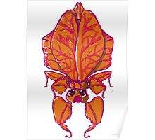 BUG red PHYLLIUM Poster