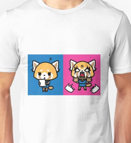 Aggretsuko: Before & After Unisex T-Shirt