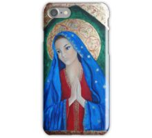 Icon of Mother Mary iPhone Case/Skin