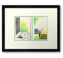 Sketchbook Jak, 14-15 Framed Print