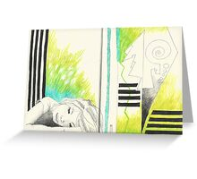 Sketchbook Jak, 14-15 Greeting Card