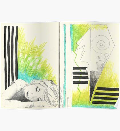 Sketchbook Jak, 14-15 Poster
