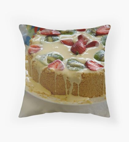 Exploding Cheesecake Throw Pillow