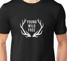 young, wild, free Unisex T-Shirt
