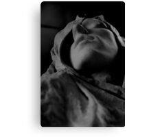 Rodin's slave Canvas Print