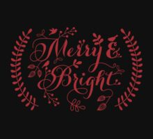 Merry and Bright, Merry Christmas Kids Clothes