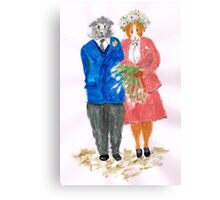 The Guinea Pig Wedding Canvas Print