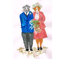 The Guinea Pig Wedding Photographic Print