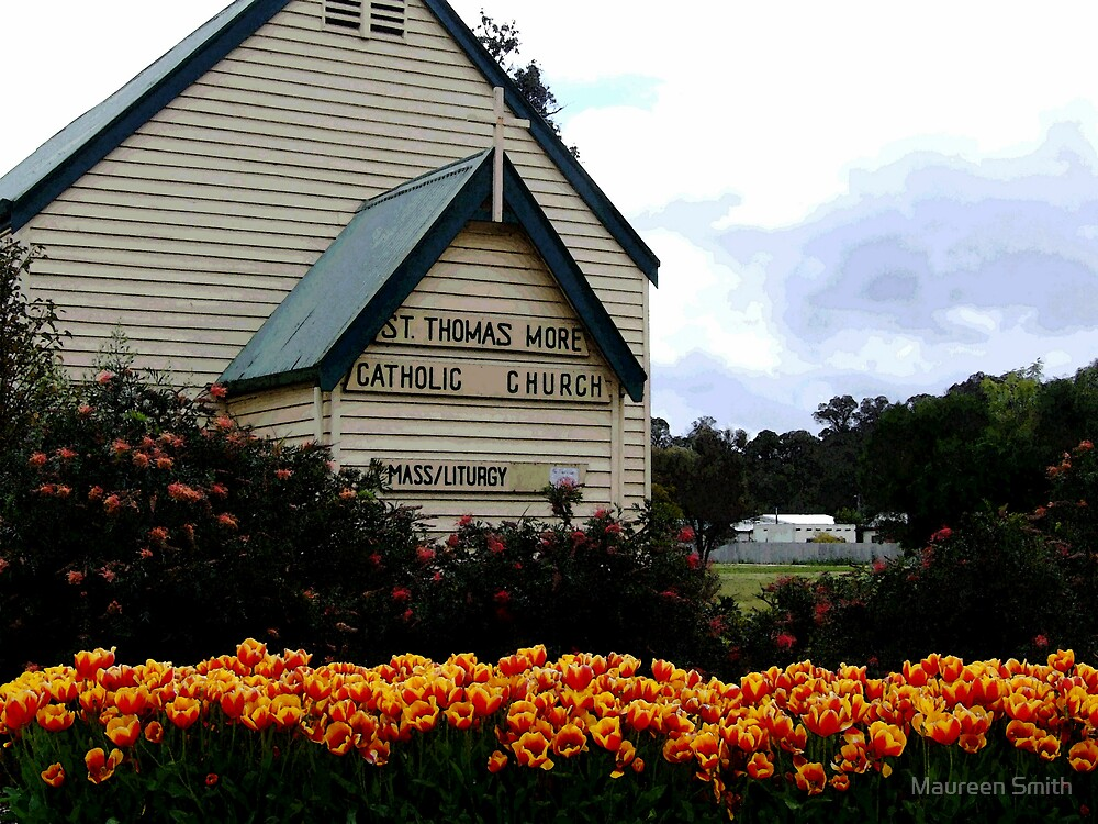 Tulips at Nannup, South Western Australia by Maureen Smith
