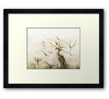 Yellow Fields Framed Print