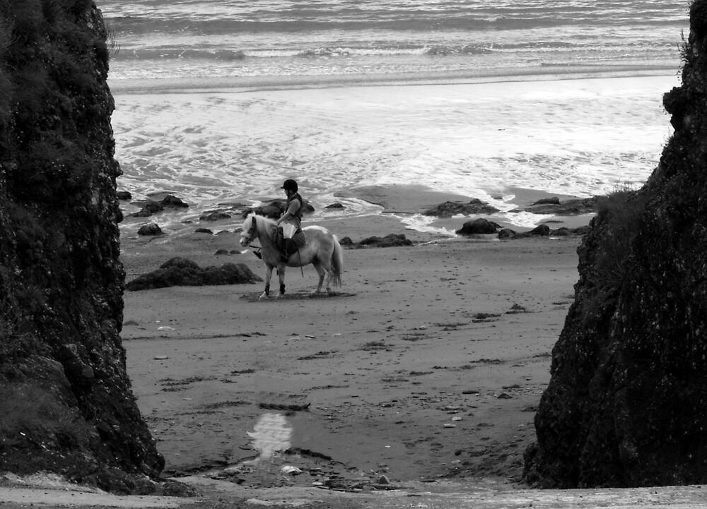 riding on water by Alma Ní Chuinn
