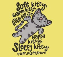 Soft Kitty, Warm Kitty Kids Clothes