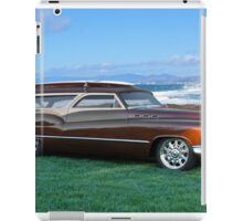 1950 Buick Woody Wagon 8 iPad Case/Skin