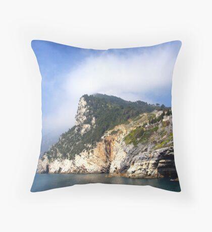 Grotto at Porto Venere Throw Pillow