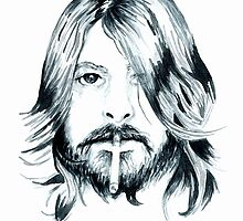 Dave Grohl by bridgetdav