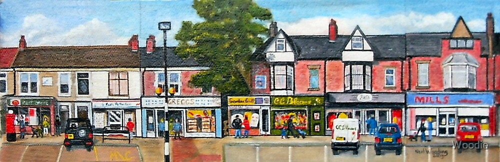 Station Road, Forest Hall. Newcastle upon Tyne by Woodie