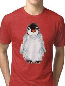 Molly the baby penguin  Tri-blend T-Shirt