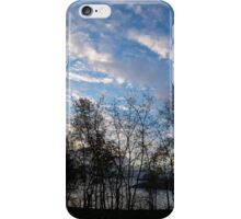 Sky Glory Through The Screen Of Trees iPhone Case/Skin