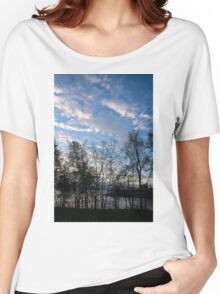 Sky Glory Through The Screen Of Trees Women's Relaxed Fit T-Shirt